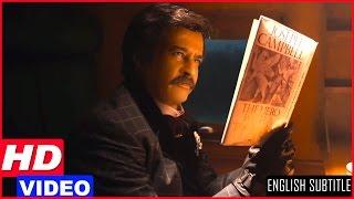 Lingaa Tamil Movie Scenes HD | Rajinikanth Flashback | Rajinikanth fights the looters in the train