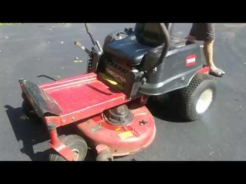 Toro Z4200 Muffler Repair/Restructure