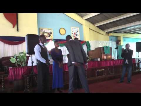Sunday Service @ United Methodist Church in Chitungwiza, Zimbabwe 2