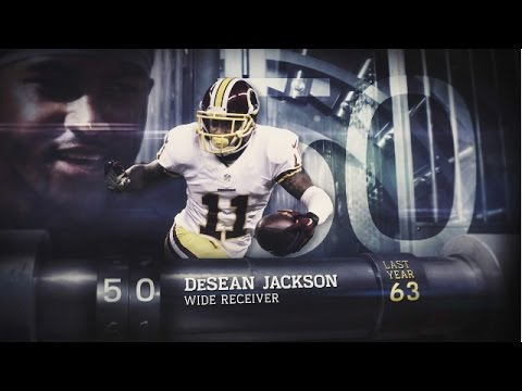 #50 DeSean Jackson (WR, Redskins) | Top 100 Players of 2015