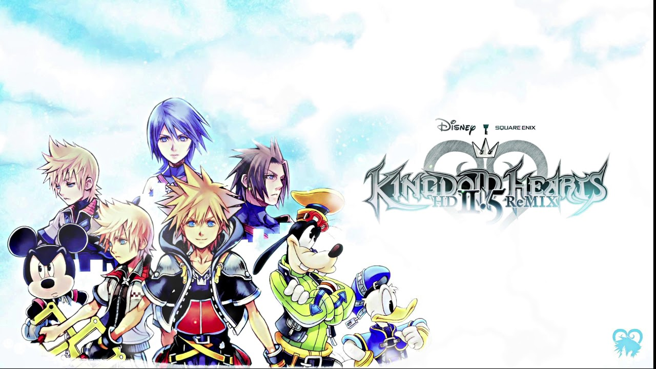 Animated Friends In My Heart Kingdom Hearts II - Wallpaper Engine