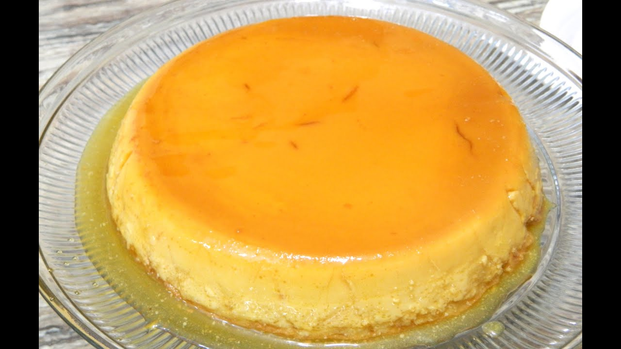 Flan De Coco Y Queso Or Coconut And Cream Cheese Custard Youtube