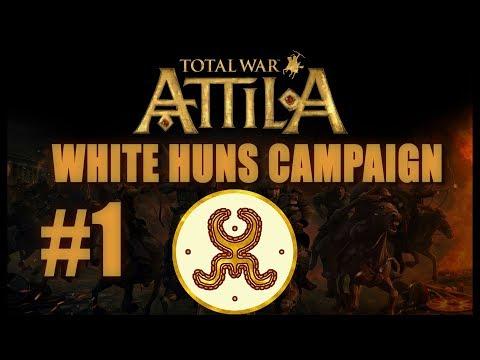 Total War: Attila - White Huns Campaign #1