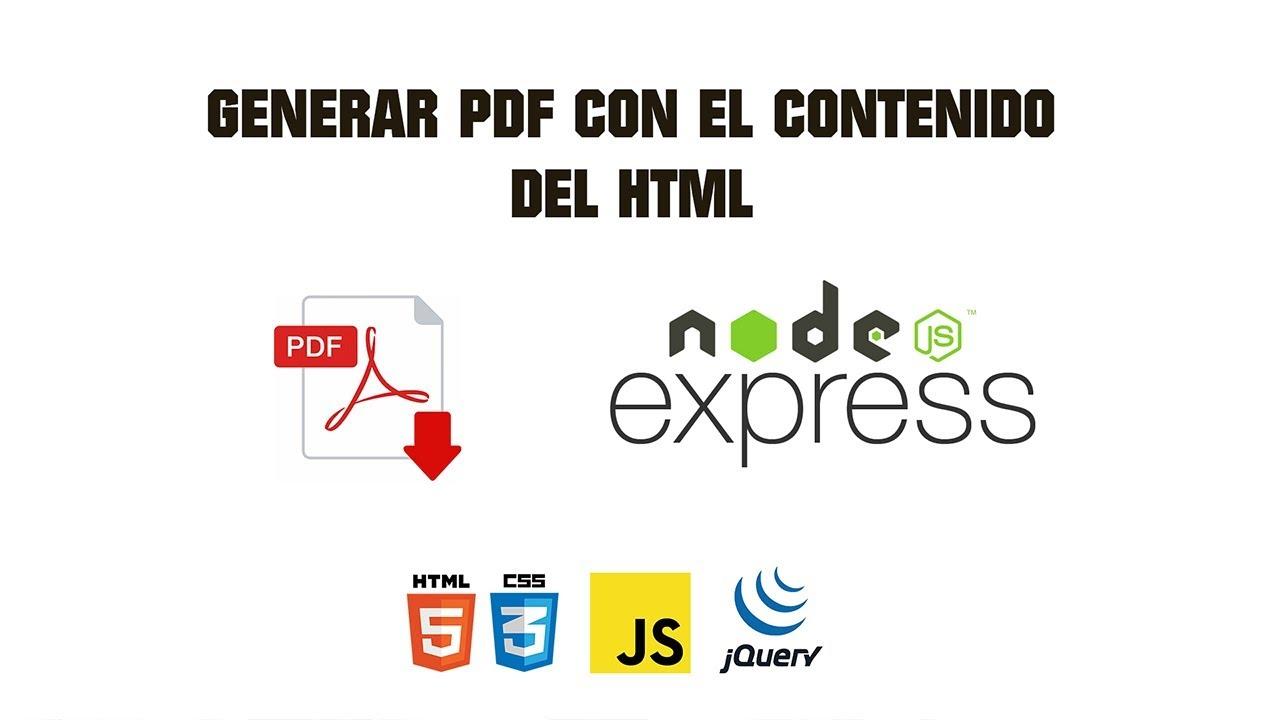 WKHTMLTOPDF NODE JS PDF : Online PDF