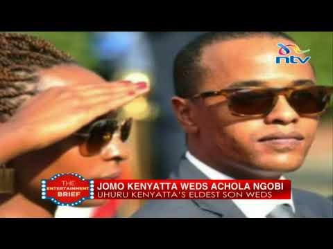Inside Jomo Kenyatta&39;s pink-white wedding at Statehouse