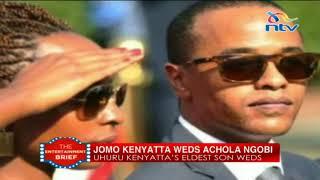 Inside Jomo Kenyatta's pink-white wedding at Statehouse