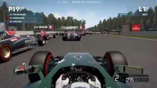 F1 2014 - Difficulty Comparison