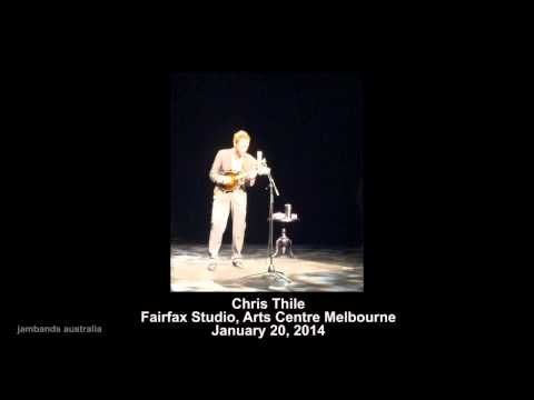 Chris Thile @ Fairfax Studio, Arts Centre Melbourne 01-20-2014