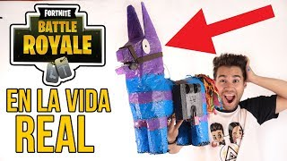 FORTNITE object in REAL LIFE - FORTNITE BATTLE ROYALE