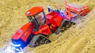 RC tractors in ACTION! Amazing miniature farming in 1/32 scale!