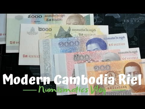 Modern Cambodia Currency