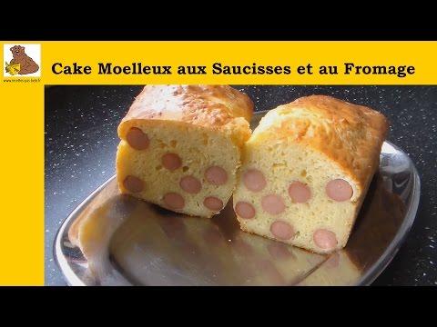 cake-moelleux-aux-saucisses-et-au-fromage-(recette-rapide-et-facile)