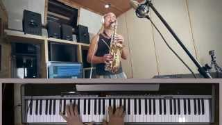 Sting -  Shape of my heart (Saxophone & piano cover version)