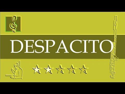 Flute Notes Tutorial - Despacito - Luis Fonsi ft. Daddy Yankee (Sheet Music)