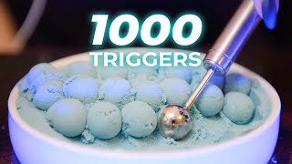 ASMR 1000 Triggers for Sleep 3Hr (No Talking)