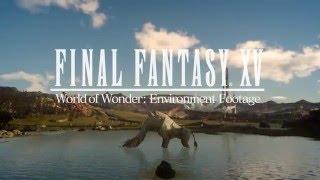 FINAL FANTASY XV - World of Wonder Environment Footage /ファイナルファンタジー15