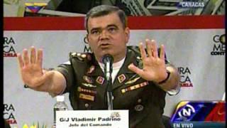 General en jefe Vladimir Padrino López habla sobre guerra de cuarta generación