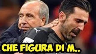 ITALIA FUORI DAL MONDIALE !!! LA REAZIONE DEI TIFOSI DEL WEB italia svezia 0 0 russia 2018