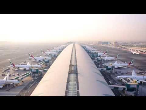 Emirates Fleet at Dubai International | Timelapse| Emirates Airline