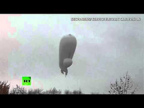 Pentagon Surveillance Blimp Crashes