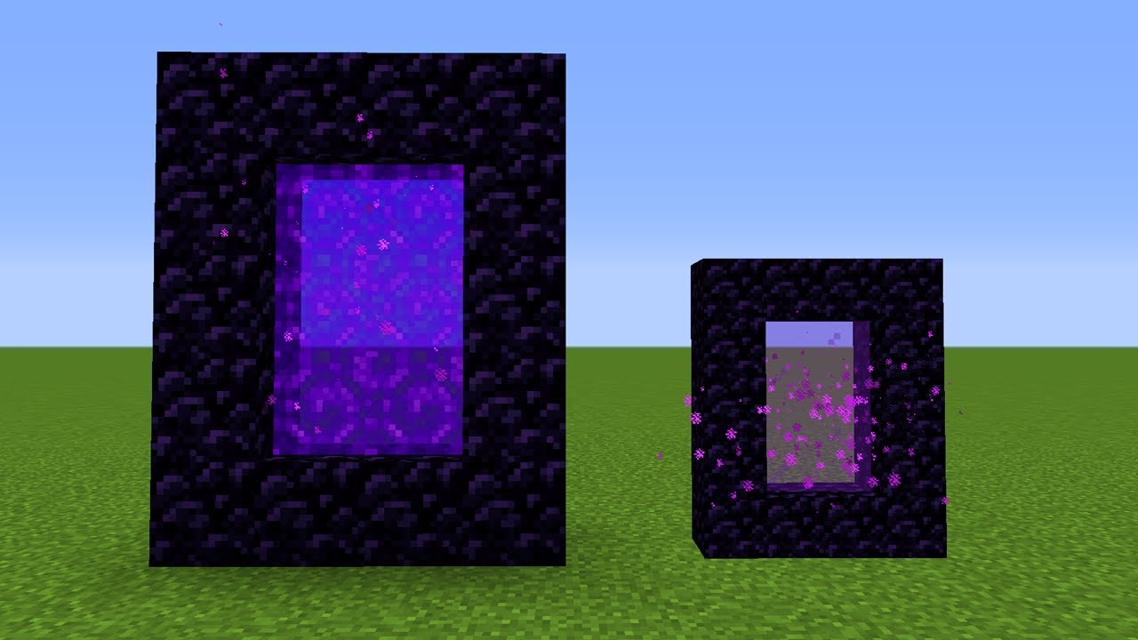 Small Nether Portal