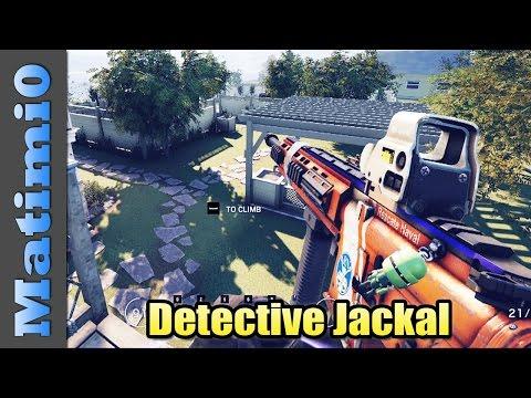 Detective Jackal - Rainbow Six Siege