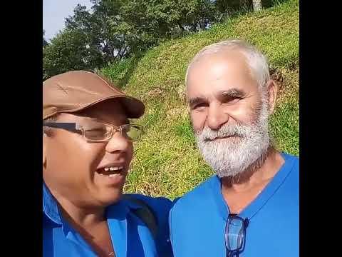 Meu amigo Gavião. hahaha...