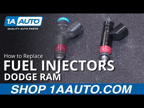 How to Replace Fuel Injectors 04-08 Dodge Ram