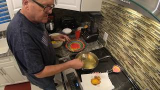 Mark Lowry sets off the fire alarm cooking hot-water cornbread.