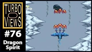 """Dragon Spirit"" - Turbo Views #76 (TurboGrafx-16 / Duo game REVIEW!)"
