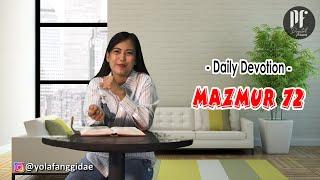 Download PF DAILY DEVOTION - Mazmur 72
