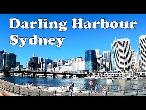 Sydney Darling Harbour Walk - Sydney Australia