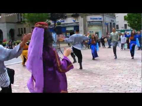 Palestinian Lajee Dabke troupe perform in Dundee (introduced by Rich Wiles)