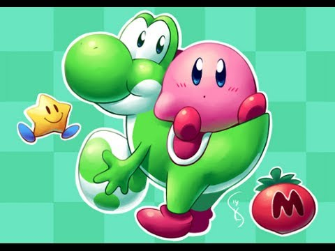 Super Kawaii Yoshi Kirby Triple Deluxe Youtube