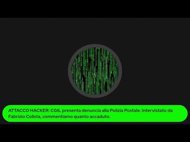 Attacco #Hacker alla #CGIL #DDoS oppure si sono incartati da soli?