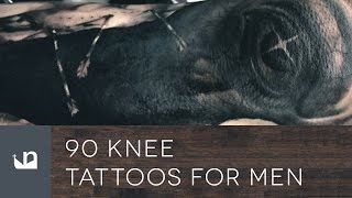 90 Knee Tattoos For Men