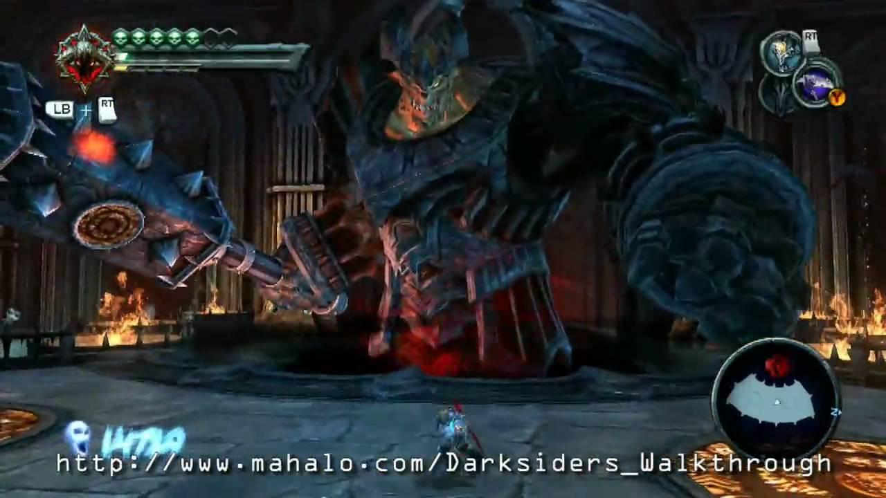 Darksiders Walkthrough - The Black Throne Part: Straga ...