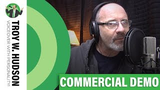 Commercial Voice Over Demo | Troy W. Hudson