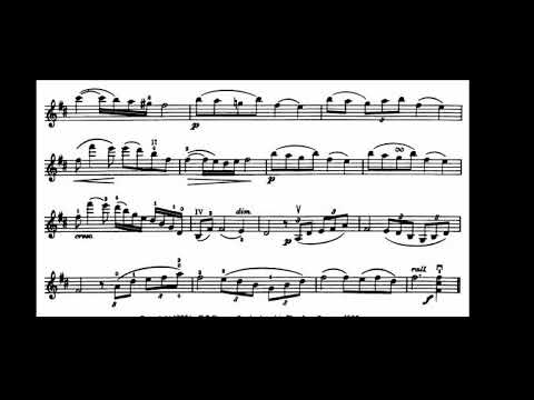 Adoration (Borowski) Violin sheet music