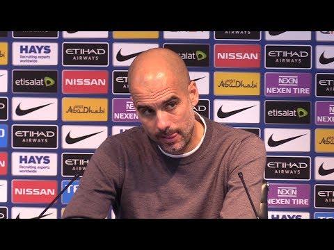 Manchester City 7-2 Stoke - Pep Guardiola Full Post Match Press Conference - Premier League