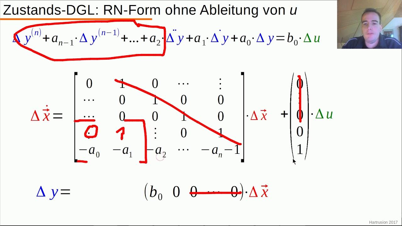 Dynamische Systeme Teil 7 3 Regelungsnormalform Zu Beispiel 1 Youtube