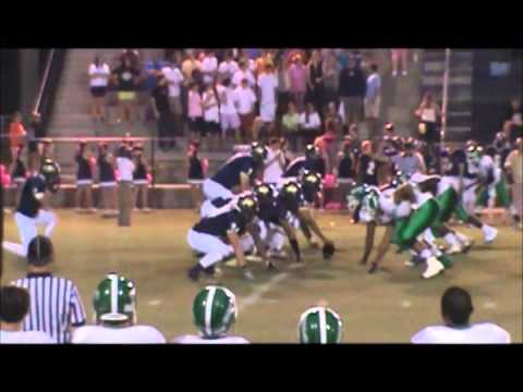Brock mitchell #4/#13 Football highlight(2013) millry high school