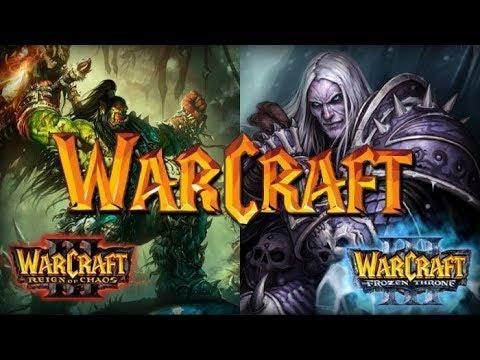 Новогоднее прохождение кампании WarCraft 3 с Майкером 1 часть