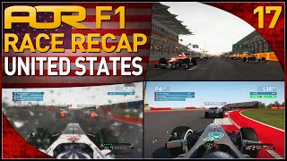 F1 2013 | AOR F1: S8 Round 17 - United States Grand Prix (Official Race Recap)