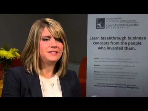 Full-Time MBA Student Kara Oldford at the Weatherhead School of Management