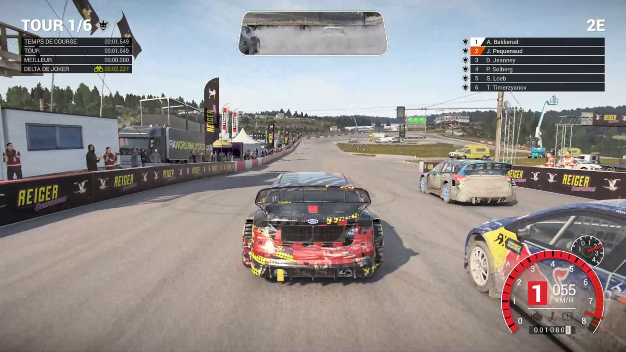 dirt 4 pc gameplay simulation exigeant rallycross vue ext rieure youtube. Black Bedroom Furniture Sets. Home Design Ideas