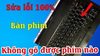 Cách sửa lỗi máy tính không gõ được bàn phím đơn giản thành công 100%