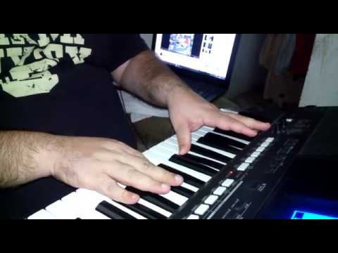 SIA - CHANDELIER. Keyboard cover. A piece of music (amateur) - YouTube