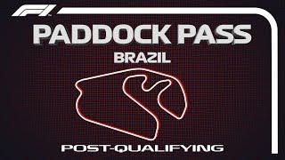 Baixar F1 Paddock Pass: Post-Qualifying At The 2019 Brazilian Grand Prix