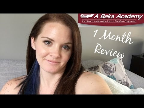 Abeka Academy K5 1 Month Review